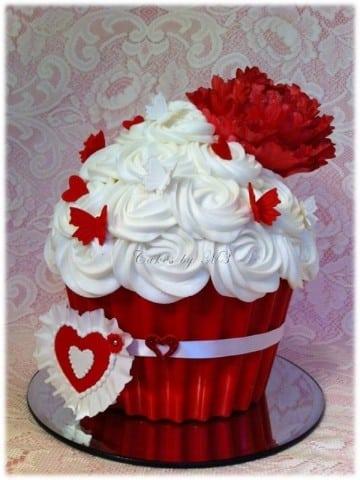 pasteles de san valentin mini tortas
