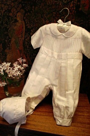 ropones para bautizo de niño elegantes