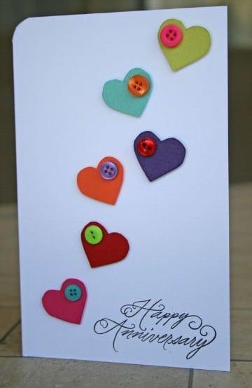 Ideas para hacer tarjetas de amor hechas a mano para - Hacer regalos originales a mano ...