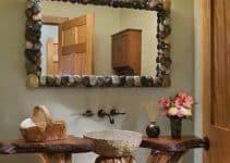 Troncos de madera decorados para adornar y sentarse