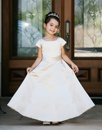 vestidos blancos para bautizo niña