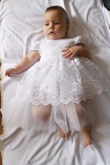 Preciosos Modelos De Vestidos Elegantes Para Bautizo