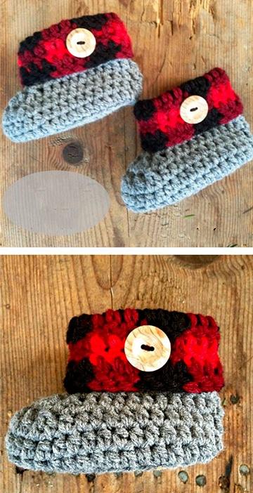 zapatitos para bebe recien nacido crochet