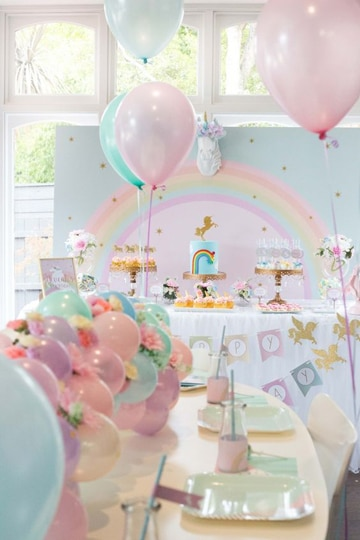arreglos para cumpleaños de niña de 2 años