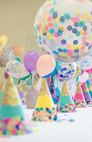 arreglos para cumpleaños de niña para la mesa