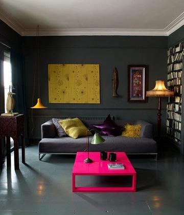 combinaciones de pinturas para casas interior
