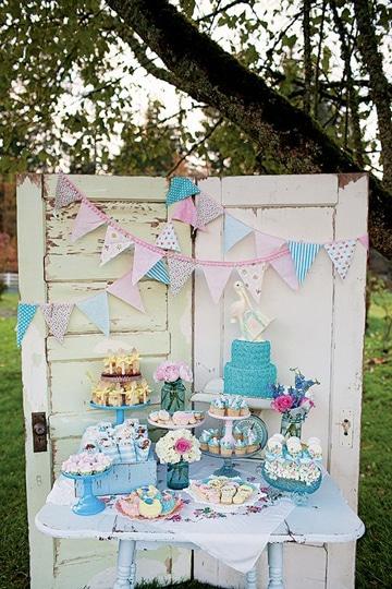 decoracion de fiestas vintage infantil