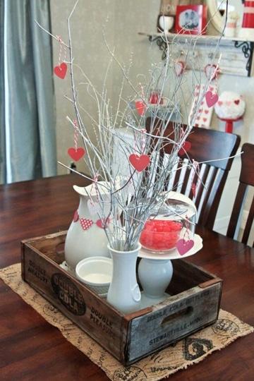 Ideas de decoraciones para el dia del amor y la amistad for Decoracion de pared para san valentin