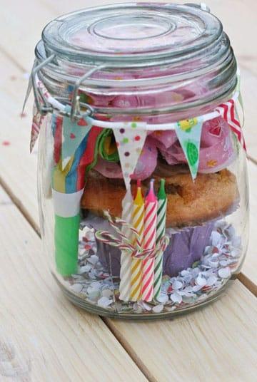 frascos de vidrio para souvenirs cumpleaños