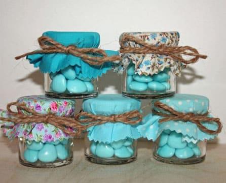 Ideas para decorar frascos de vidrio para souvenirs for Ideas con frascos de vidrio
