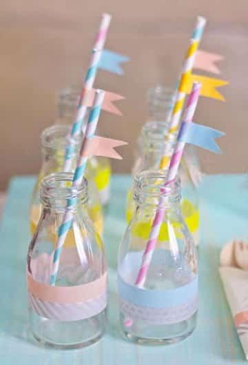 Manualidades con frascos decorados para cumplea os de vidrio - Diy frascos decorados ...