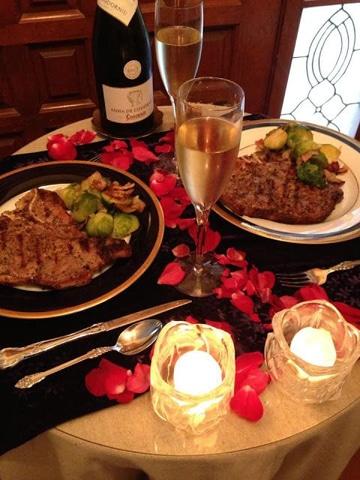 ideas de cenas romanticas casera