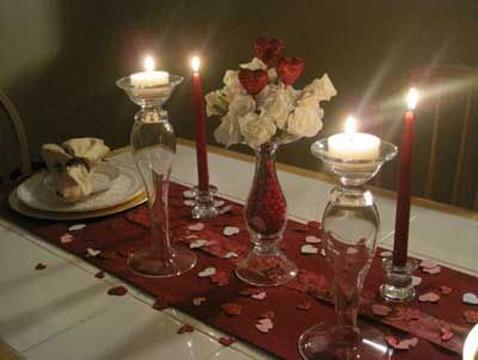 ideas de cenas romanticas en casa