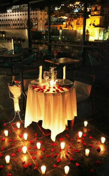 ideas de cenas romanticas sencilla