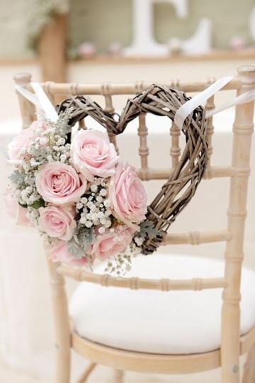 imagenes de adornos para boda para sillas