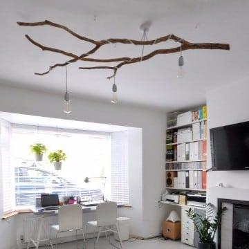 ramas de arboles para decorar cuartos