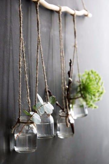 ramas de arboles para decorar paredes