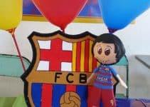 Ideas de adornos de futbol para cumpleaños de niños