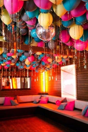Decoracion y arreglos de salon con globos en imagenes - Imagenes de decoracion ...