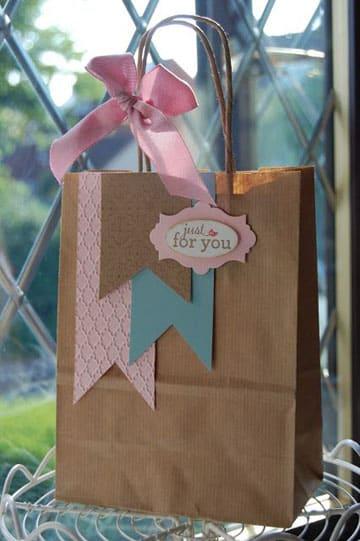 bolsas de papel decoradas para cumpleaños