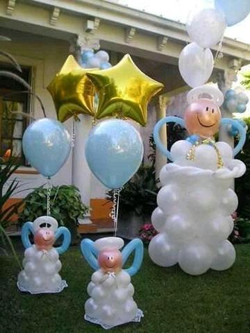 como hacer arreglos de globos fiesta