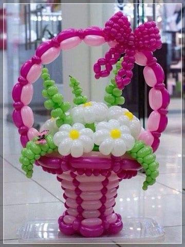 como hacer formas con globos redondos
