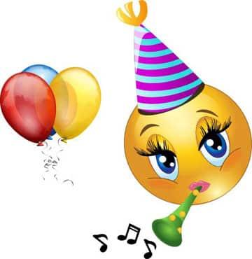 emoticones de feliz cumpleaños para amigas