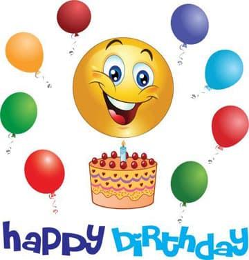 emoticones de feliz cumpleaños para facebook