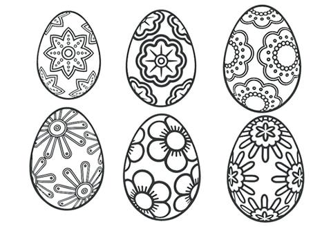 ideas para pascua de resurreccion para colorear