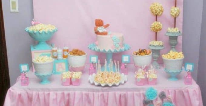 Ideas De Decoracion Baby Shower Nina.Decoracion Baby Shower Nino Sencillo Centros De Mesa Para