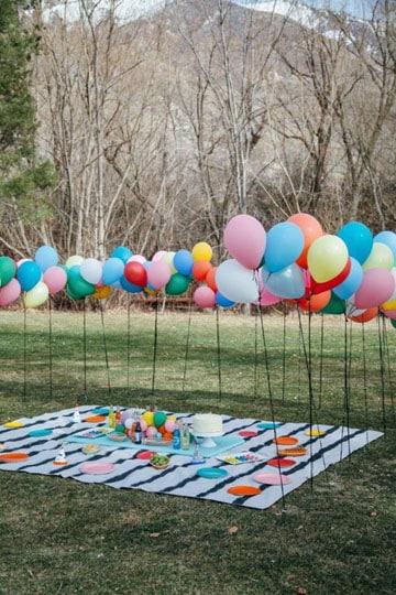 imagenes de fiestas infantiles picnic