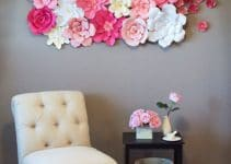 Imagenes de flores de papel faciles y gigantes de cartulina