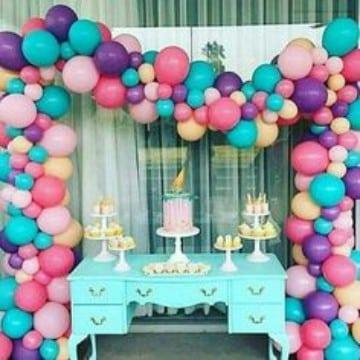 imagenes de globos de colores para cumpleaños