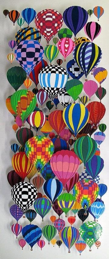 imagenes de globos de colores para imprimir
