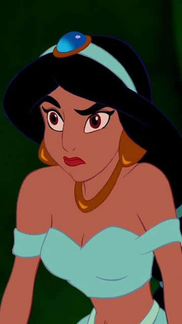 imagenes de la princesa jazmin aldin