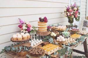 Imagenes de mesas de postres para boda y xv años