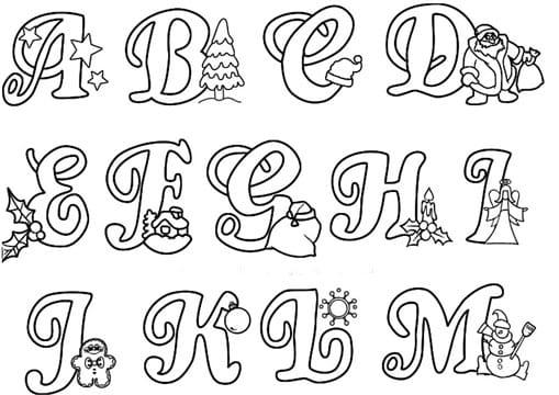 Modelos de letras para carteles para imprimir y recortar - Literas bonitas ...