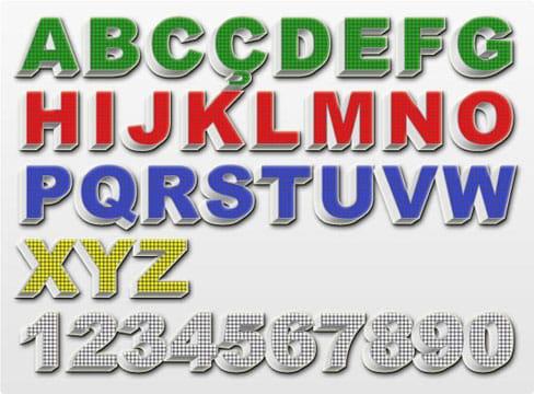 modelos de letras para carteles sencillas