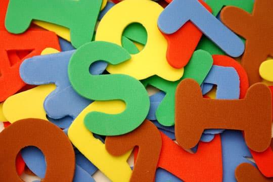 moldes de letras en foami grande