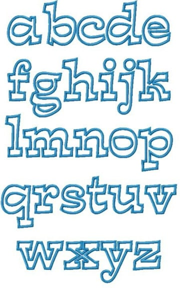 moldes de letras en foami para imprimir