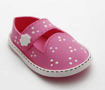 moldes de zapatos en foami niña