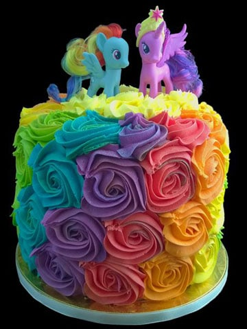 pasteles de my little pony 2013