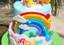 Imagenes de diseños de pasteles de my little pony