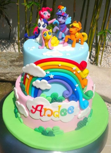 pasteles de my little pony 2014