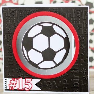 Tarjetas De Cumpleaños De Futbol Animadas Personalizadas
