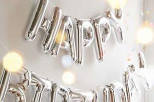 Excéntricos adornos para cumpleaños de adultos