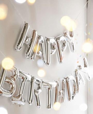 adornos para cumpleaños de adultos en casa