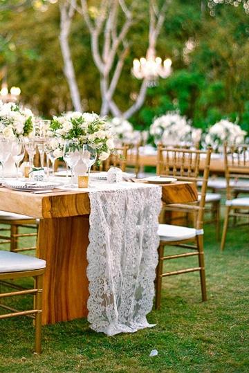 bodas rusticas al aire libre decoracion