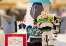 Sé guardián espacial con los centros de mesa de buzz lightyear