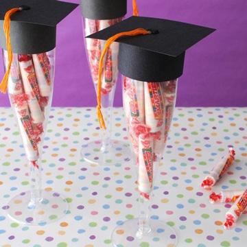 centros de mesa para grados con dulce